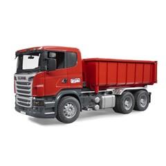 Scania R-serie container vrachtwagen 1:16 bruder