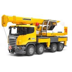 Bruder 03570 - Scania-Liebherr Kraanwagen 1:16
