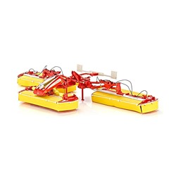 Wiking 077341 - Pottinger novact V10 maaier 1:32