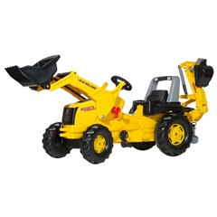Rolly Toys RollyJunior New Holland Construction met Frontlader en Graafmachine