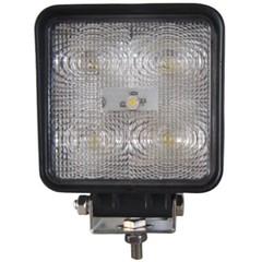 Led Werklamp 15w 60° Vierkant 100mm 12/24v