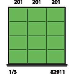 Metec Indelingsset H 50 12-Vaks 612X612 Mm 82911