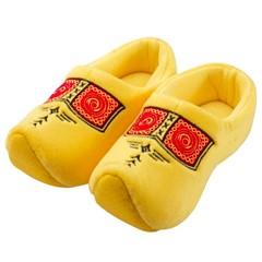 Klompslof geel met tasje
