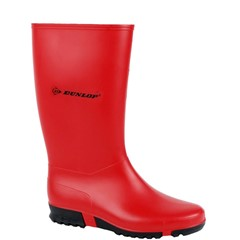 Dunlop Kinderlaars PVC Sport Rood Maat 31