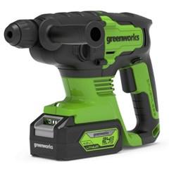 Greenworks 24V Boorhamer Zonder Accu En Oplader
