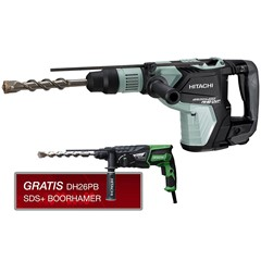 Hitachi DH40MEY(35JR) SDS-Max Combihamer (DH40MEY) / SDS-Plus Boorhamer (DH26PB) - 11 / 3,2J