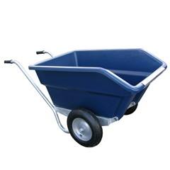 Kiepkruiwagen JFC (Blauw) - 250 Liter