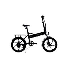"BOHLT R200BL elektrische fiets Zwart Aluminium 50,8 cm (20"") 24,8 kg Lithiu"