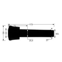 Tepelvoeringset Origineel - Gea Westfalia Surge 7021-2725-230