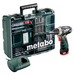 Metabo Accu Boor-Schroefmachine 10.8 Volt Powermaxx Bs Mobile Workshop