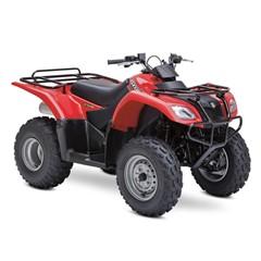 Suzuki ATV Ozark 250 Rood
