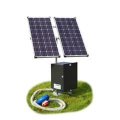 Poortman type 50 plas-draspomp op zonne-energie