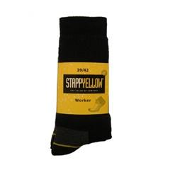 Stapp - 4415 Yellow Sok Worker Blauw - 47/50 - Blauw