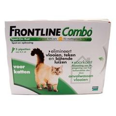 Frontline combo vlooiendruppels kat