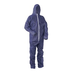 Overall disposable blauw xl