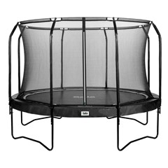 Salta Premium Black Edition Trampoline + Safety Net Ø 366 cm, Zwart