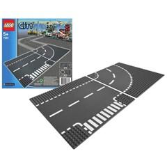LEGO City 7281 - T-splitsing en Bocht