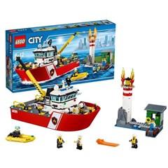 LEGO City 60109 - Brandweerboot