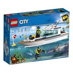 LEGO City 60221 - Duikjacht