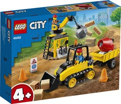 LEGO City Constructiebulldozer - 60252