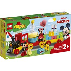 LEGO DUPLO Disney Mickey & Minnie Verjaardagstrein - 10941