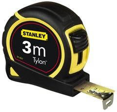 Rolbandmaat Stanley Tylon 3M - 12,7Mm