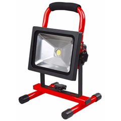 4Tecx LED Bouwlamp Accu Prof 20W 1500 Lumen