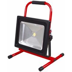 4Tecx LED Bouwlamp Accu Prof 50W 4100 Lumen