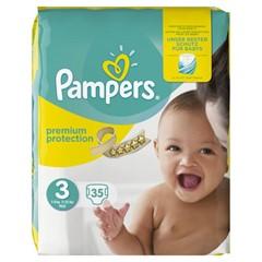 Pampers Baby Dry Maat 3, 2x35 stuks
