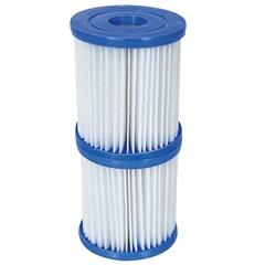 Bestway Zwembadfilter Type I Anti-Microbe - 2 Stuks