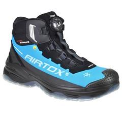 AIRTOX Werkschoenen TX66 S3 Zwart/Blauw