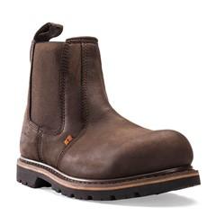Buckler Werkschoenen B1150SM SB Instapper Bruin
