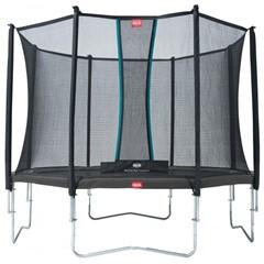 BERG Trampoline Favorit Grijs - Ø 380 cm (incl. Safety Net Comfort)