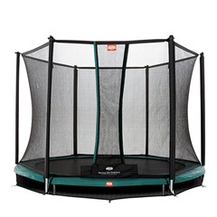 Berg Inground Talent 300 + Safety Net, Groen