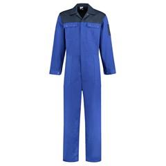 De Boer Overall 2-Kleurig Korenblauw-Marine