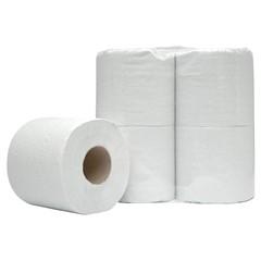 Toiletpapier 2-Laags Wit 40 Rol/400 Vel