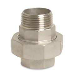 RVS Nr. 341 - Koppeling conisch binnendraad x buitendraad