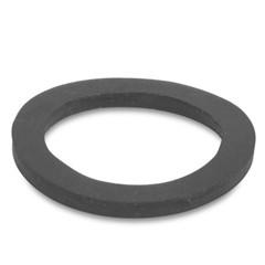 Platte rubber ring voor eindkap