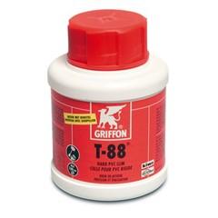 Griffon PVC-lijm 0,1ltr met kwast KIWA type T-88 label NL/FR