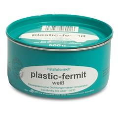 Afdichtpasta 500g wit type Plastic Fermit