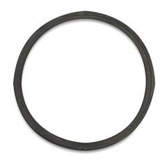 Afdichtingsring rubber zwart