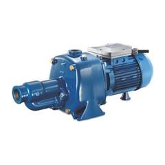 Foras Jetpomp gietijzer 1 1/2 inch x 1 inch binnendraad 230V blauw zelfaanzuigend type JA200/1 M