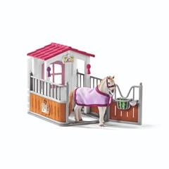 Schleich Paardenbox met Lusistano Merrie 42368