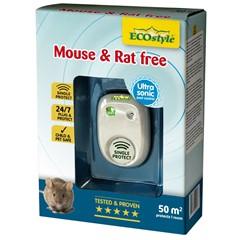 ECOstyle Ultrasonische Muizen- en Rattenverjager - 50 m2