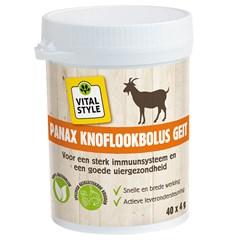 VITALstyle Panax Knoflookbolus Geit 40 x 4 Gram