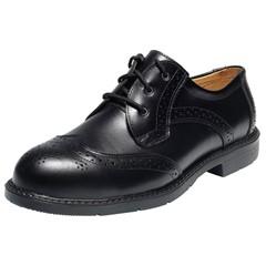 Emma Werkschoenen Bologna S3 Lakschoen Zwart