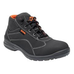 Emma Dames Werkschoenen Anouk S3 Zwart