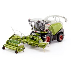 Wiking 077812 - Claas Jaguar 860 & Orbis & Pick up 1:32