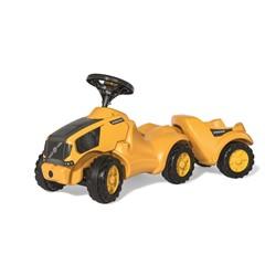 Rolly Toys Minitrac Volvo Looptractor met Aanhanger | Tractor | geel