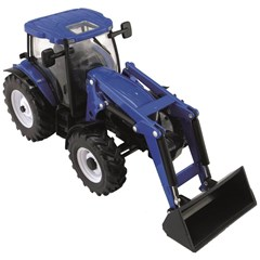 Britains 43148 - New Holland T6.180 Met Voorlader 1:32